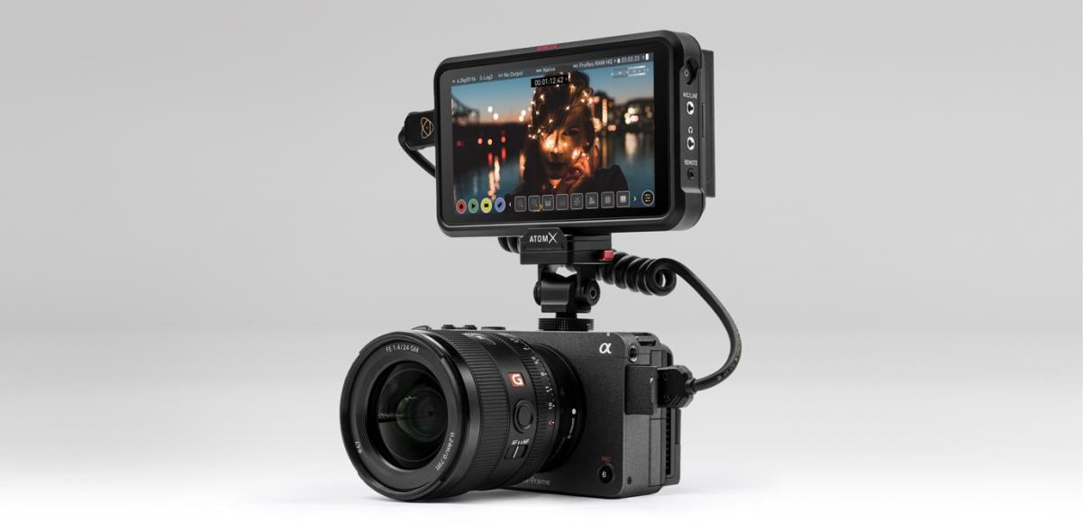 Atomos'tan Sony Alpha 1 ve FX3 Kameralarda Apple ProRes RAW Desteği