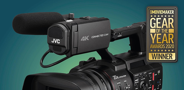 JVC HC500 Kamera Pro Moviemaker'dan 2020 Gear of the Year Ödülü Aldı